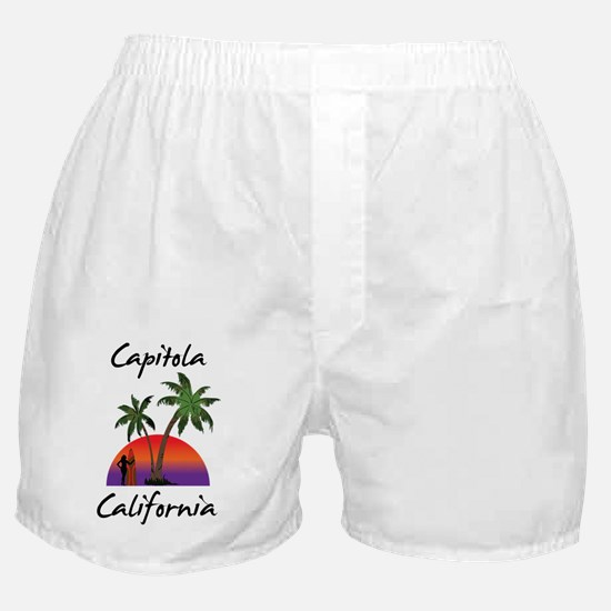 Capitola California Boxer Shorts
