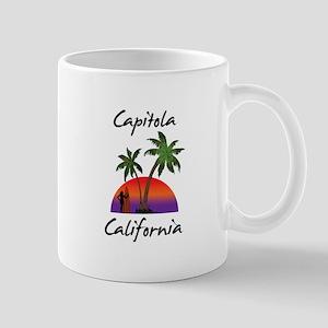 Capitola California Mugs