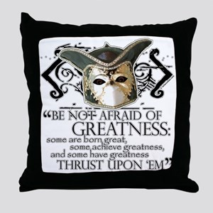 Twelfth Night 2 Throw Pillow