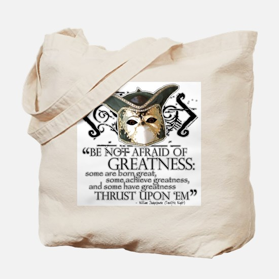 Twelfth Night 2 Tote Bag