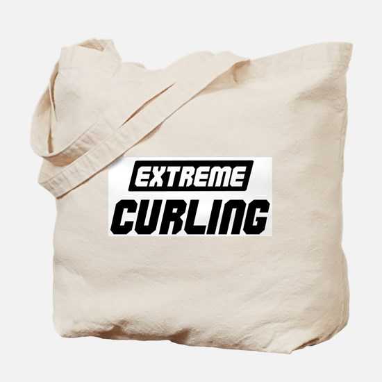 Extreme Curling Tote Bag