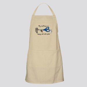My crafting is...catastrophe BBQ Apron