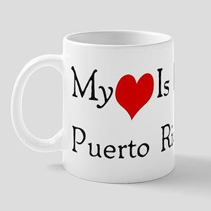 My Heart Is In Puerto Rico Mug