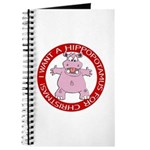 Hippo for Christmas Journal
