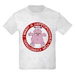 Hippo for Christmas Kids Light T-Shirt