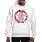 Hippo for Christmas Hooded Sweatshirt