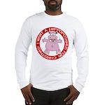 Hippo for Christmas Long Sleeve T-Shirt