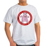 Hippo for Christmas Light T-Shirt