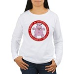 Hippo for Christmas Women's Long Sleeve T-Shirt