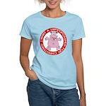 Hippo for Christmas Women's Light T-Shirt