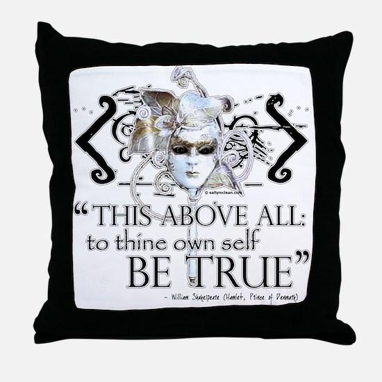 Hamlet III Throw Pillow