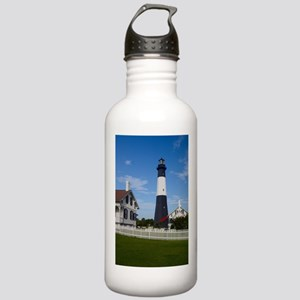Tybee Island Lighthouse and Fence Water Bottle
