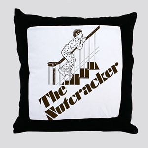 The Real Nutcracker Throw Pillow