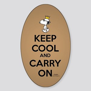 Snoopy - Keep Cool Sticker