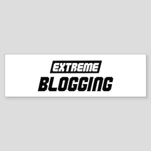 Extreme Blogging Bumper Sticker