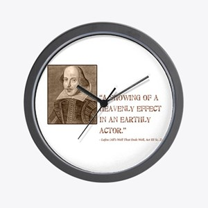 All's Well Wall Clock