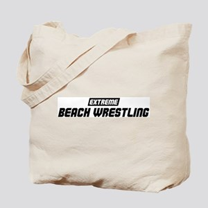 Extreme Beach Wrestling Tote Bag