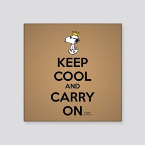 Snoopy - Keep Cool Sticker