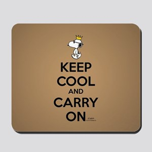 Snoopy - Keep Cool Full Bleed Mousepad
