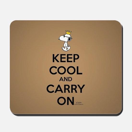 Snoopy - Keep Cool Full Bleed Mousepad