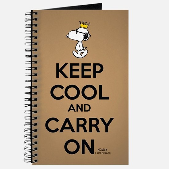 Snoopy - Keep Cool Full Bleed Journal