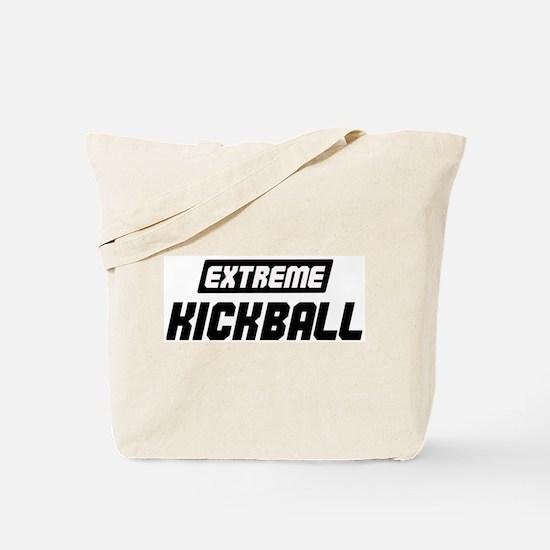 Extreme Kickball Tote Bag