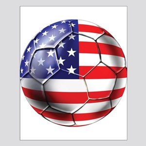 U.S. Soccer Ball Small Poster