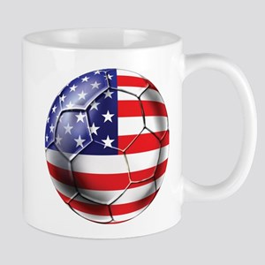 U.S. Soccer Ball Mug