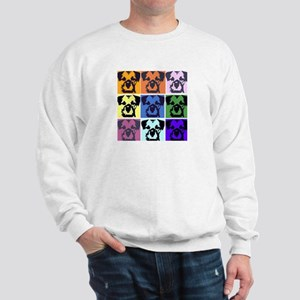 Border Terrier Pop Art Sweatshirt