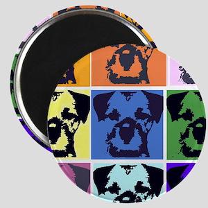 Border Terrier Pop Art Magnet