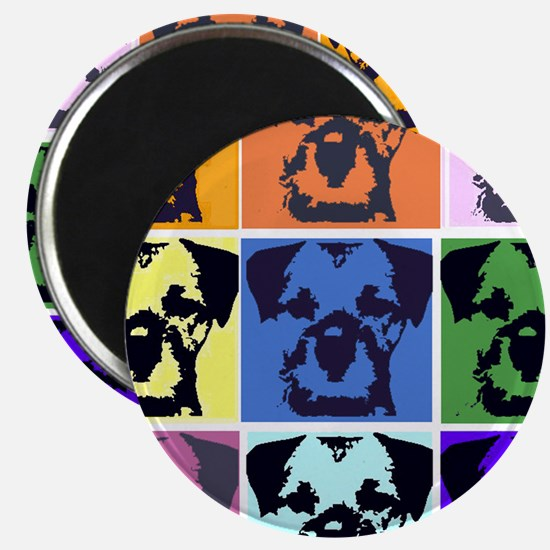 Border Terrier Pop Art Magnet