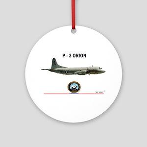 P3 Orion Round Ornament