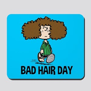 Peppermint Patty Bad Hair Day Mousepad
