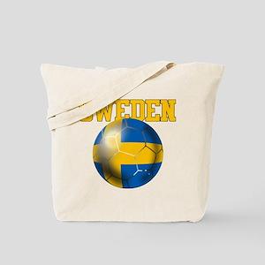 Sweden Football Tote Bag