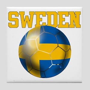 Sweden Football Tile Coaster