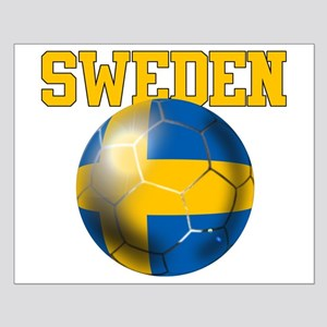 Sweden Football Small Poster