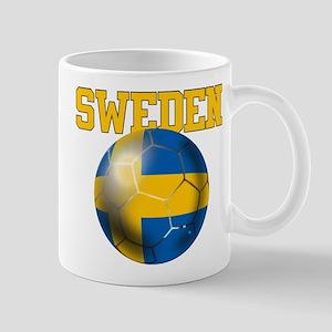 Sweden Football Mug