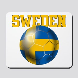 Sweden Football Mousepad