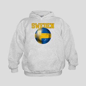 Sweden Football Kids Hoodie