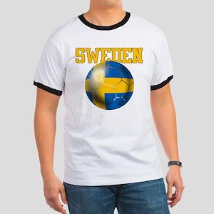 Sweden Football Ringer T