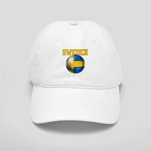 Sweden Football Cap