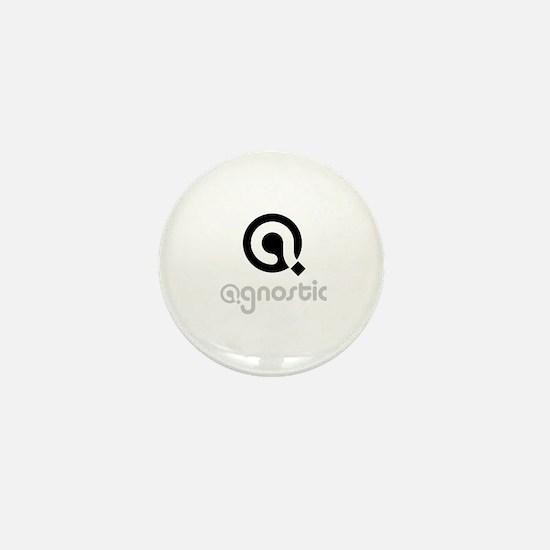 Cute Agnostic Mini Button
