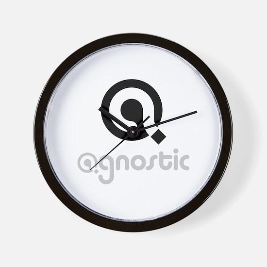 Cute Agnostic Wall Clock