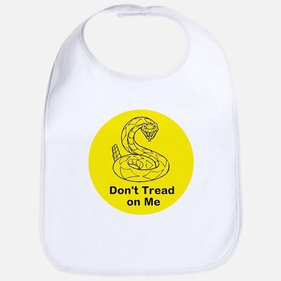 Don't tread on me Bib