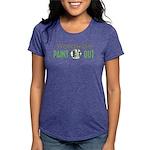 IPAP WORLDWIDE Paint Out Womens Tri-blend T-Shirt
