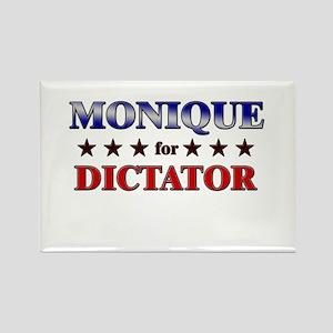 MONIQUE for dictator Rectangle Magnet