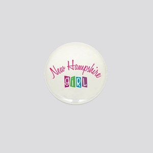 NEW HAMPSHIRE GIRL! Mini Button (10 pack)