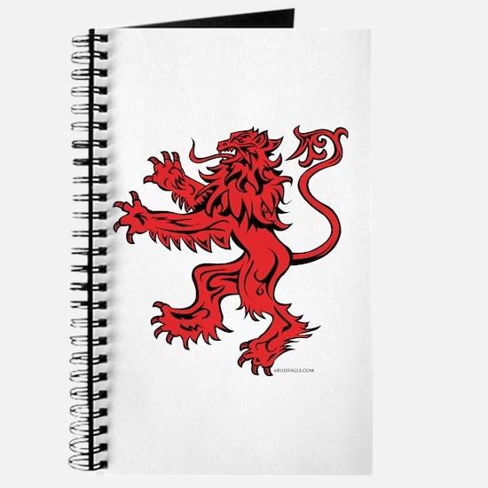Lion Red Black Journal