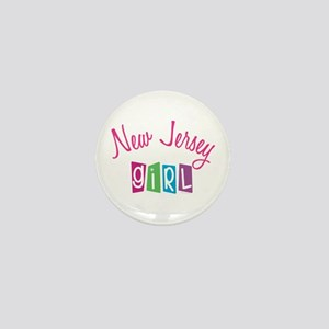 NEW JERSEY GIRL! Mini Button (10 pack)