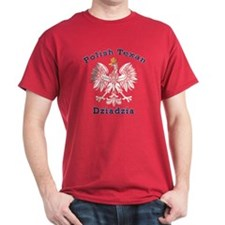 Polish Texan Dziadzia Dark T-Shirt
